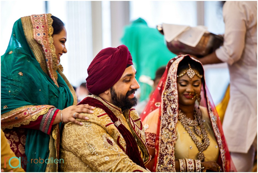 Sikh-Wedding-Ceremony-New-York-Wedding-Rob-Allen-Photography 17