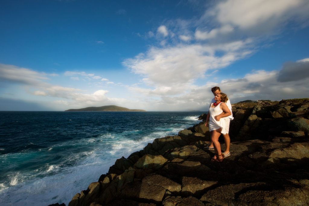 St. Thomas USVI Magens Point engagement photo session
