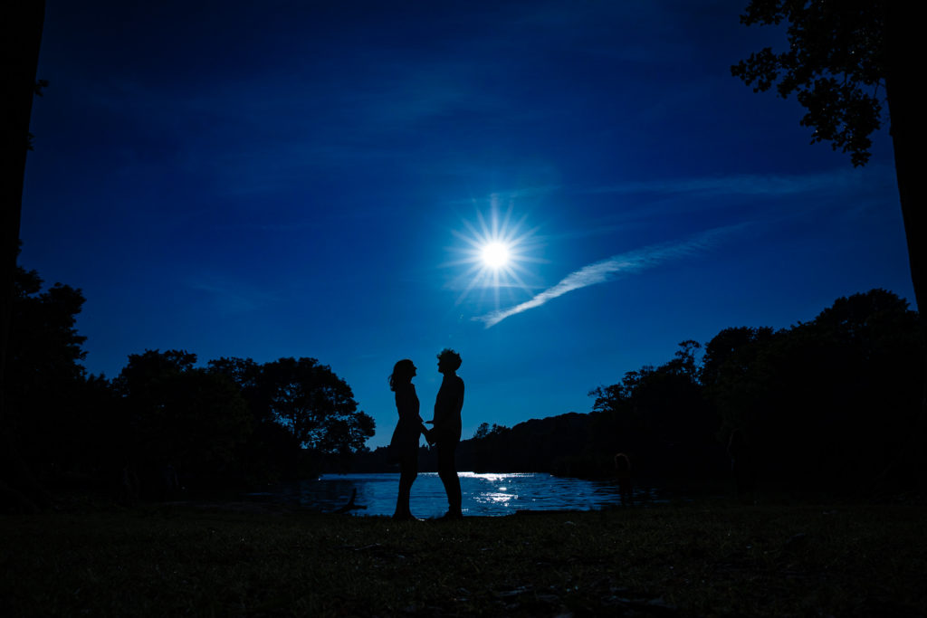 Brooklyn Prospect Park engagement session